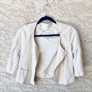 Jackets & Blazers - Banana Republic cream cropped blazer